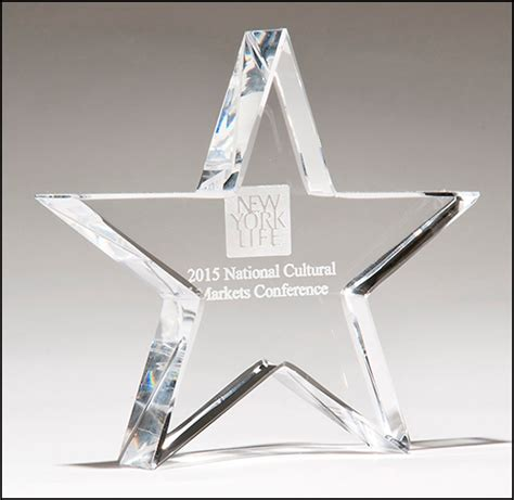 cchmc it help desk clear crystal shining star paperweight will illuminate