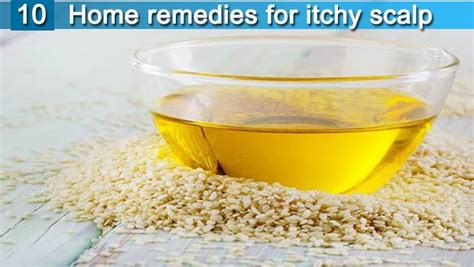 10 home remedies for itchy scalp