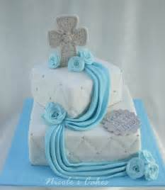on birthday cakes christening baptism cake for a baby boy
