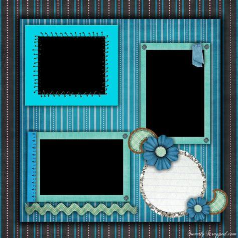 Free Printable Scrapbook Page Designs