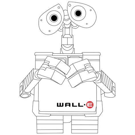 wall e colouring sheets wall e free printable walle