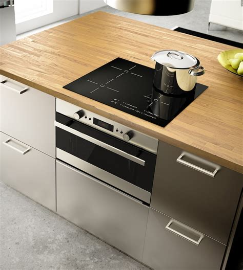 Ikea Island Kitchen by Ikea Metod Finition Grevsta Inox Ikeaddict