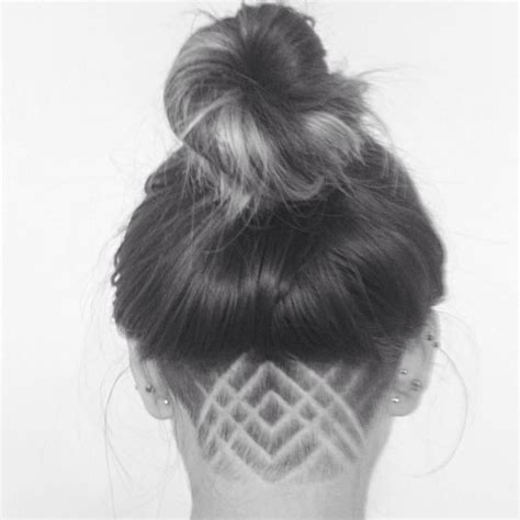 pattern undercut undercut designs female simple