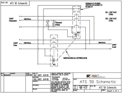 rv generator transfer switch wiring diagram wiring diagram