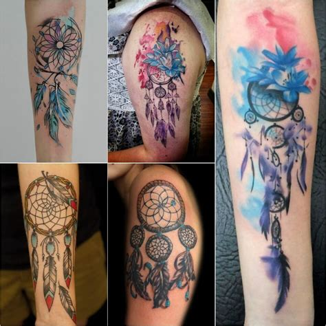 dreamcatcher tattoos small dreamcatcher tattoos powerful talisman for dreams