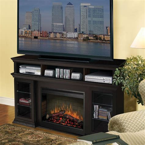 Gas Fireplace Mantels Entertainment Center   Fireplace Designs