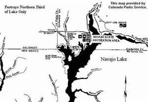 colorado cing map navajo lake
