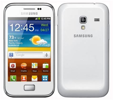 Samsung Ace Plus S7500 512mb White Samsung Galaxy Ace Plus Price In Malaysia Specs Release
