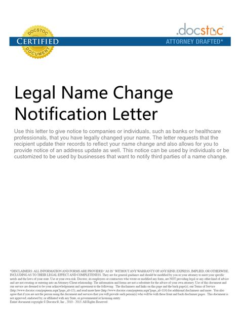 Request Letter Change Of Name best photos of name change notification company name