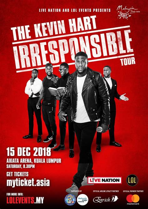 kevin hart malaysia hollywood star kevin hart brings quot irresponsible quot tour to