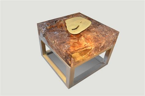 cracked resin coffee table cracked resin side table coffee table 441f andrianna