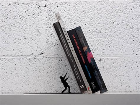 ends books design 10 shelf worthy bookends flavorwire