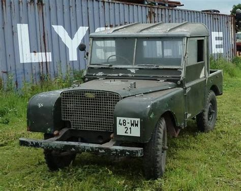 1949 80 quot 1 6 petrol lbg series 1 land rovers