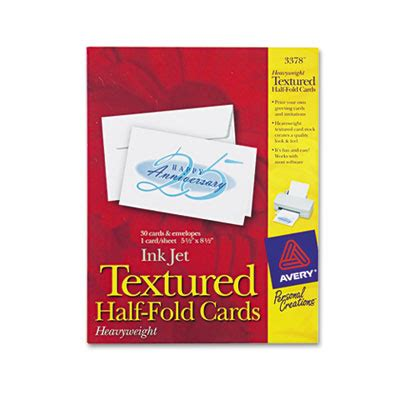 Half Fold Greeting Card Paper - textured half fold greeting cards inkjet 5 1 2 x 8 1 2