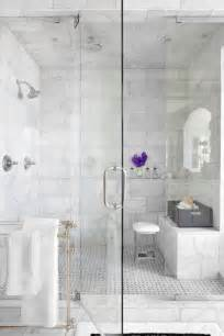 White Marble Bathroom Ideas White Marble Tile Shower