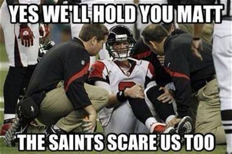 Funny Saints Memes - nfl meme falcons nfl funny pinterest
