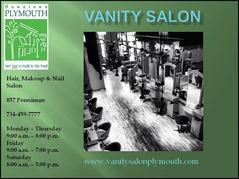 Vanity Salon Plymouth Mi by City Of Plymouth Downtown Development Authority Barbers