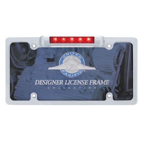 License Plate Bracket With Light by Chrome License Plate Bracket Led Brake Stop