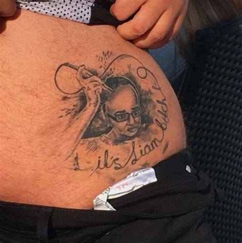 tattoo of us funny geordie shore nathan henry reveals just tattoo of us