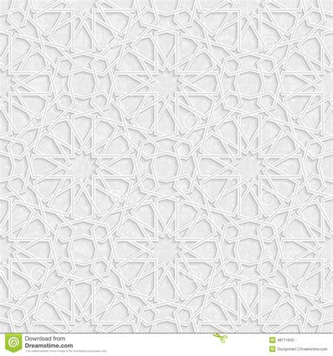 arabesque star pattern  grunge light grey background