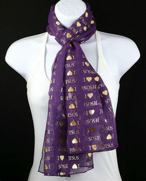 new i jesus womens scarf christian religious