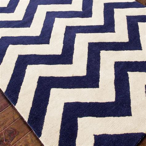 Cheap Chevron Area Rugs Plush Wool Chevron Rug Navy Or Gray For My Dinning Room Home Sweet Home Pinterest