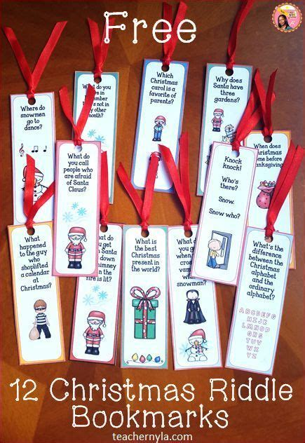 Free Printable Riddle Bookmarks | 1000 ideas about riddles on pinterest riddles with