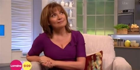 lorraine kelly 0004jpg lorraine kelly left red faced as she s forced to evacuate