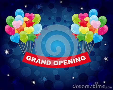 grand opening royalty  stock image image