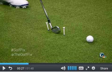 backyard chipping drills ruthless golf a drill for hitting it pure from michael breed