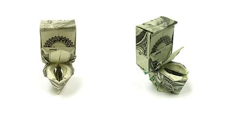 Origami Out Of Money - stunning money origami smosh