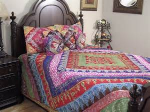 indian comforter sets sari luxury decorative duvet india inspired bedding ensemble 7p bedspread set ebay