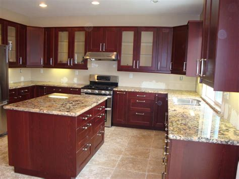 granite with cherry cabinets in kitchens top granites countertops for cherry inspirations including