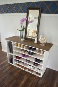 Shoe Rack Diy Plans by Stylish Diy Shoe Rack For Any Room