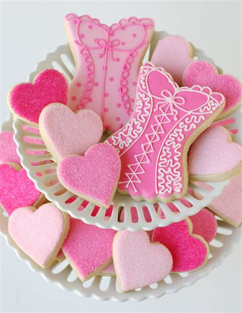 easy bridal shower cookie recipes wedding shower cookies glorious treats