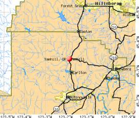yamhill oregon or 97148 profile population maps real
