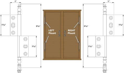 armoire door hinges cliffside industries ahi pb left solid brass armoire