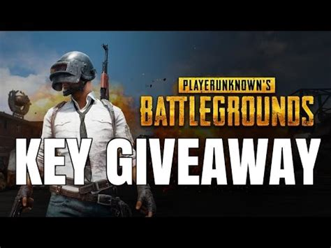Playerunknown S Battlegrounds Giveaway Key - playerunknown s battlegrounds game won t launch doovi