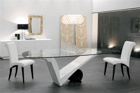 viola d contemporary marble dining table