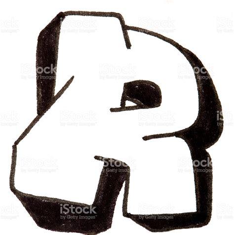 graffiti lettere alfabeto letra r alfabeto de graffiti estilo fotograf 237 a de stock