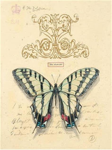 imagenes de laminas vintage vintage el glamour de anta 209 o l 225 minas con mariposas 1