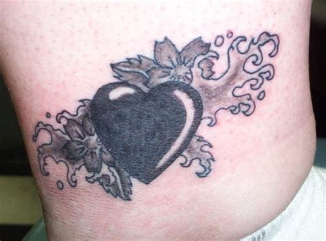 blackheart tattoo black