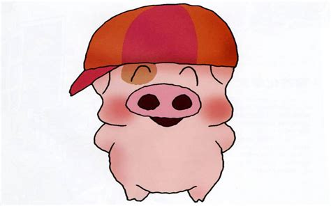 wallpaper cartoon pig funny pig cartoon wallpaper