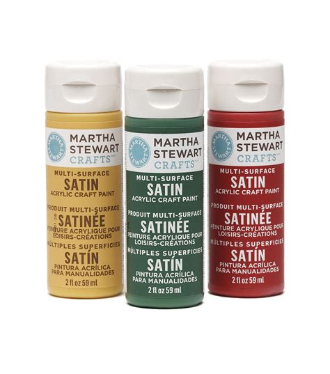 acrylic paint and craft martha stewart satin acrylic craft paint 2 ounces jo