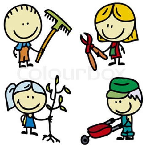 Garten Clipart by Kinder Im Garten Clipart Clipartfest