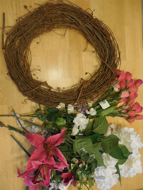 diy decorated grapevine wreath coffee to compost