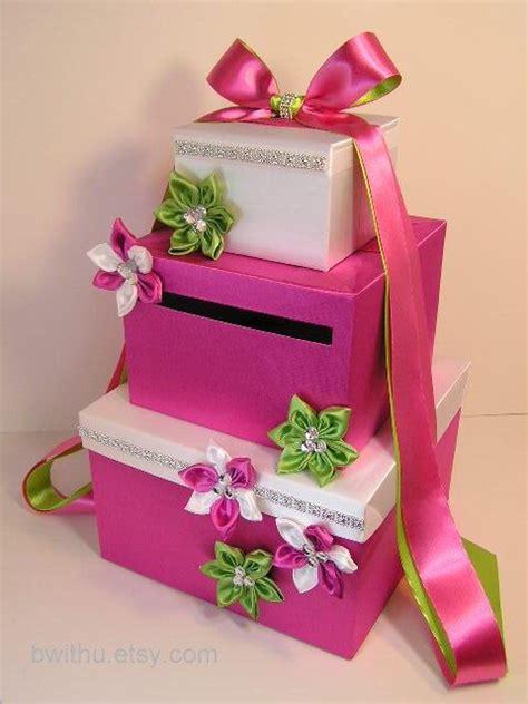 Green Wedding Card Box