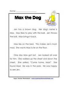 9 best images of second grade reading comprehension
