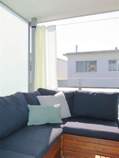 sichtschutz vorhang garten outdoor vorhang santorini fertigvorhang weiss