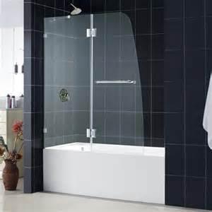 dreamline shdr 3348588 0 aqualux inch bathtub shower door